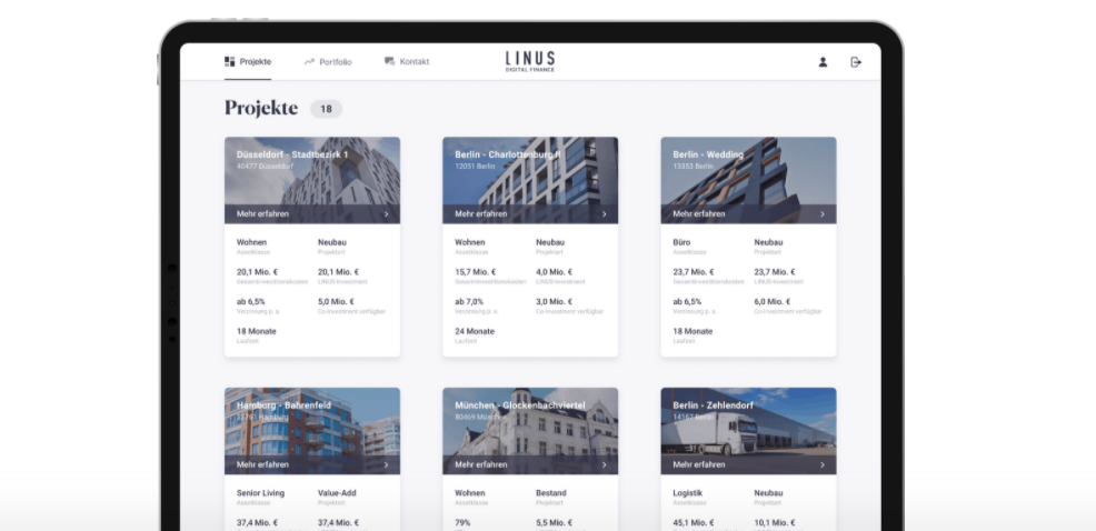 Expansion of the digital real estate investment platform: LINUS initiates next development step
