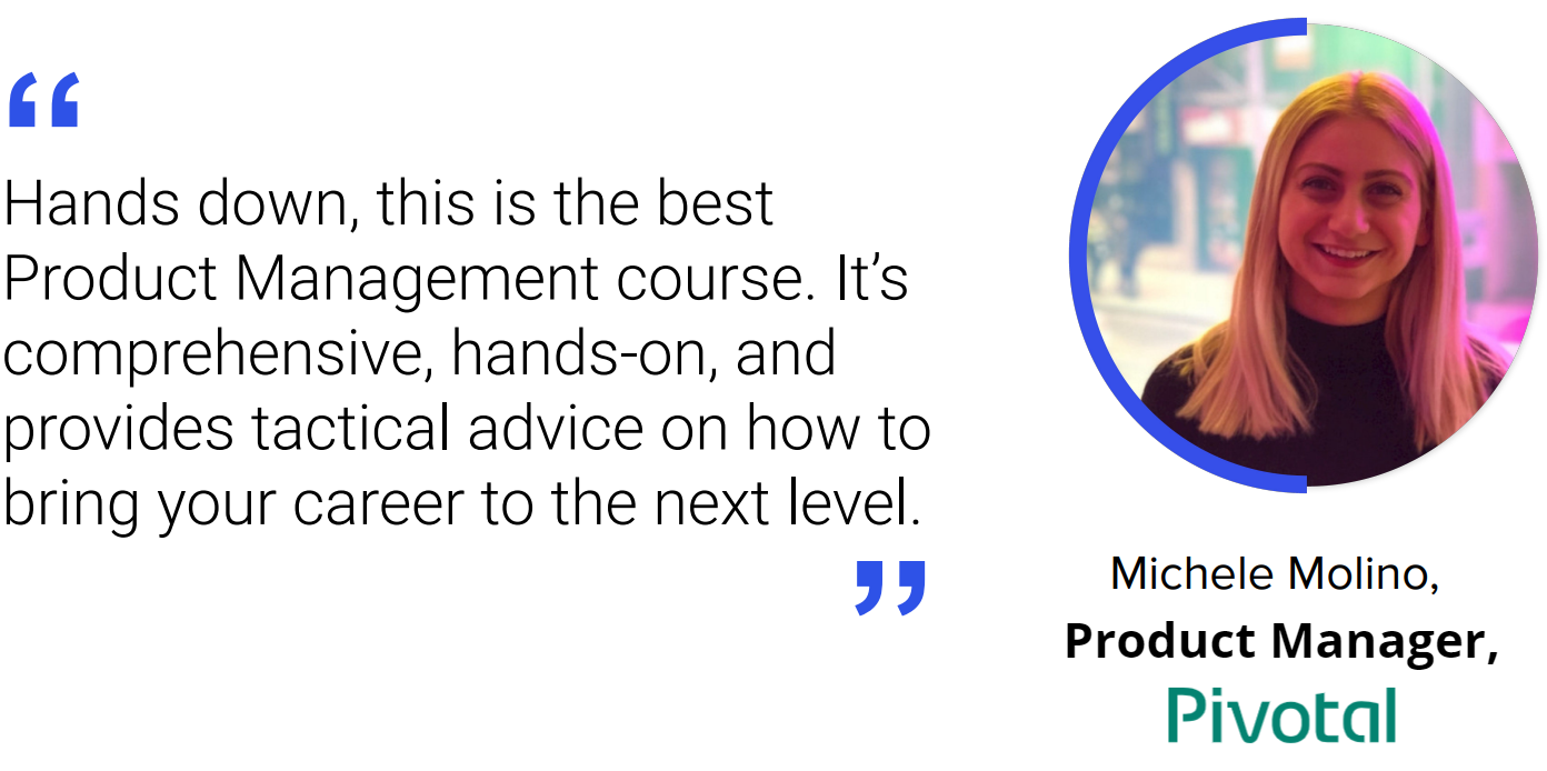 Advanced Product Management Course Review by Michele Molino