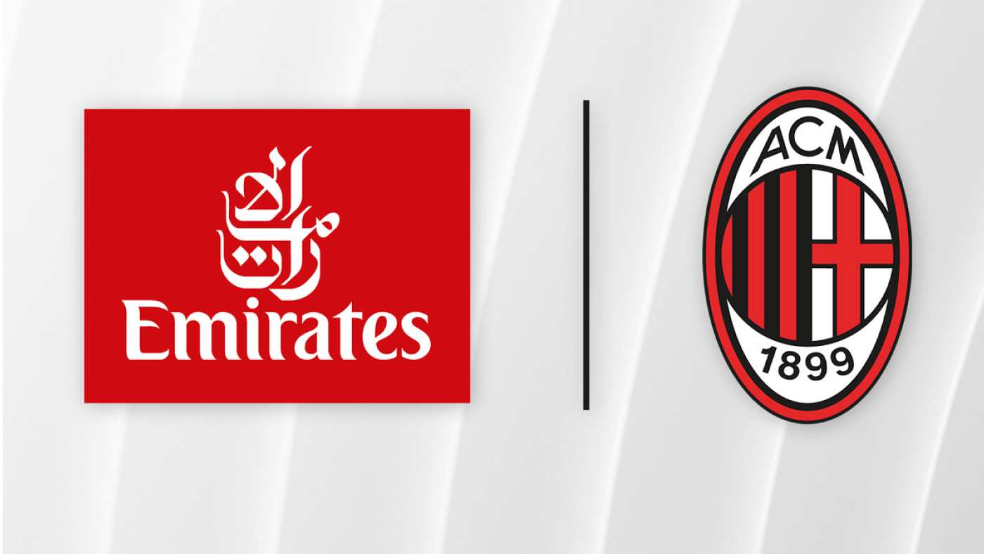 AC Milan and Emirates have agreed to extend their partnership to the end of the 2022/23 season.