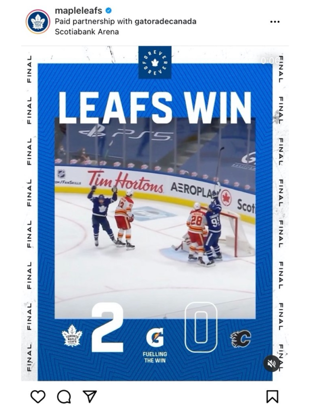 SP Guest Insight: Assessing the impact of Toronto Maple Leafs' sponsored social content