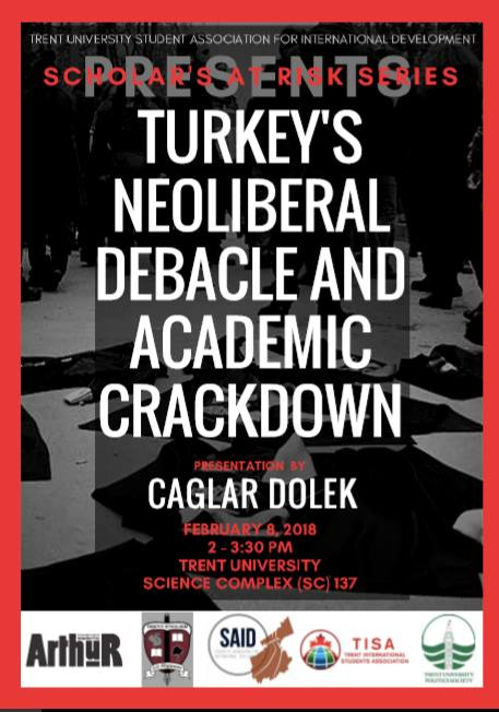 Scholars at Risk: Turkey's Neoliberal Debacle and Academic Crackdown