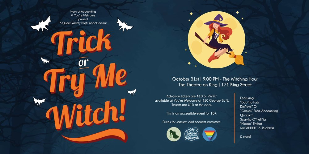 Photo Essay: Trick or Try Me, Witch!