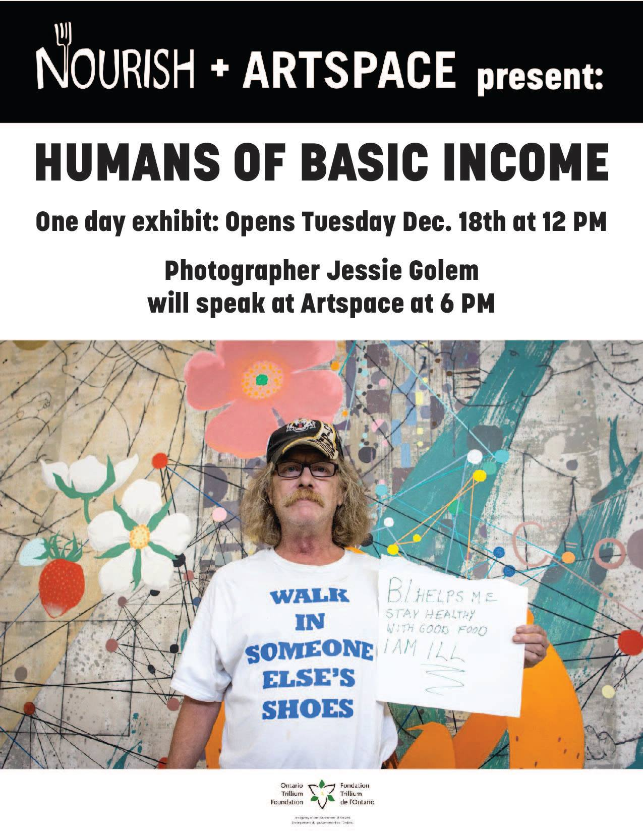 Humans of Basic Income Coming to Peterborough in December