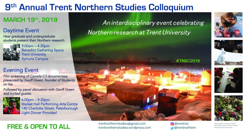 The Northern Studies Colloquium Returns!