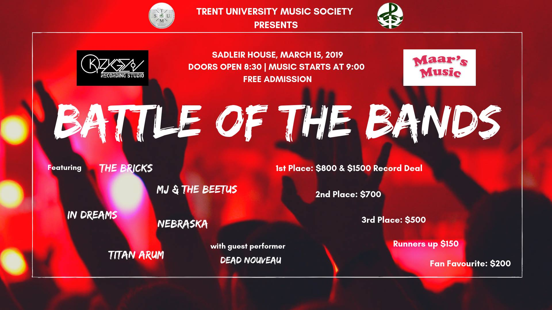 Battle of the Bands 2019: Real Rock n' Roll