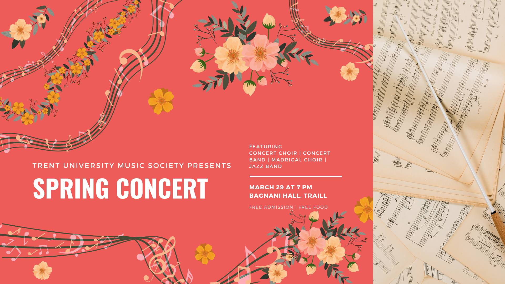 TUMS Annual Spring Concert: A Melodic Evening at Traill