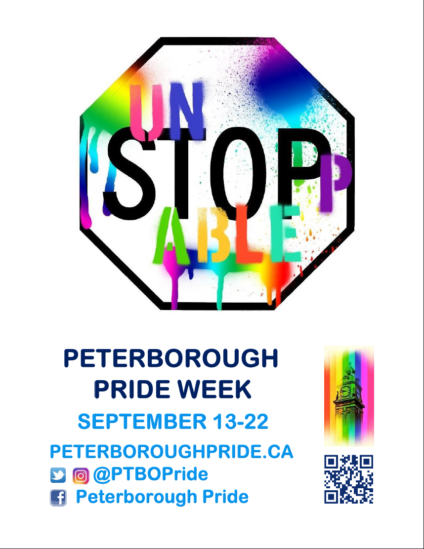 "Peterborough Pride Presents: ""Unstoppable"" Pride Week 2019"