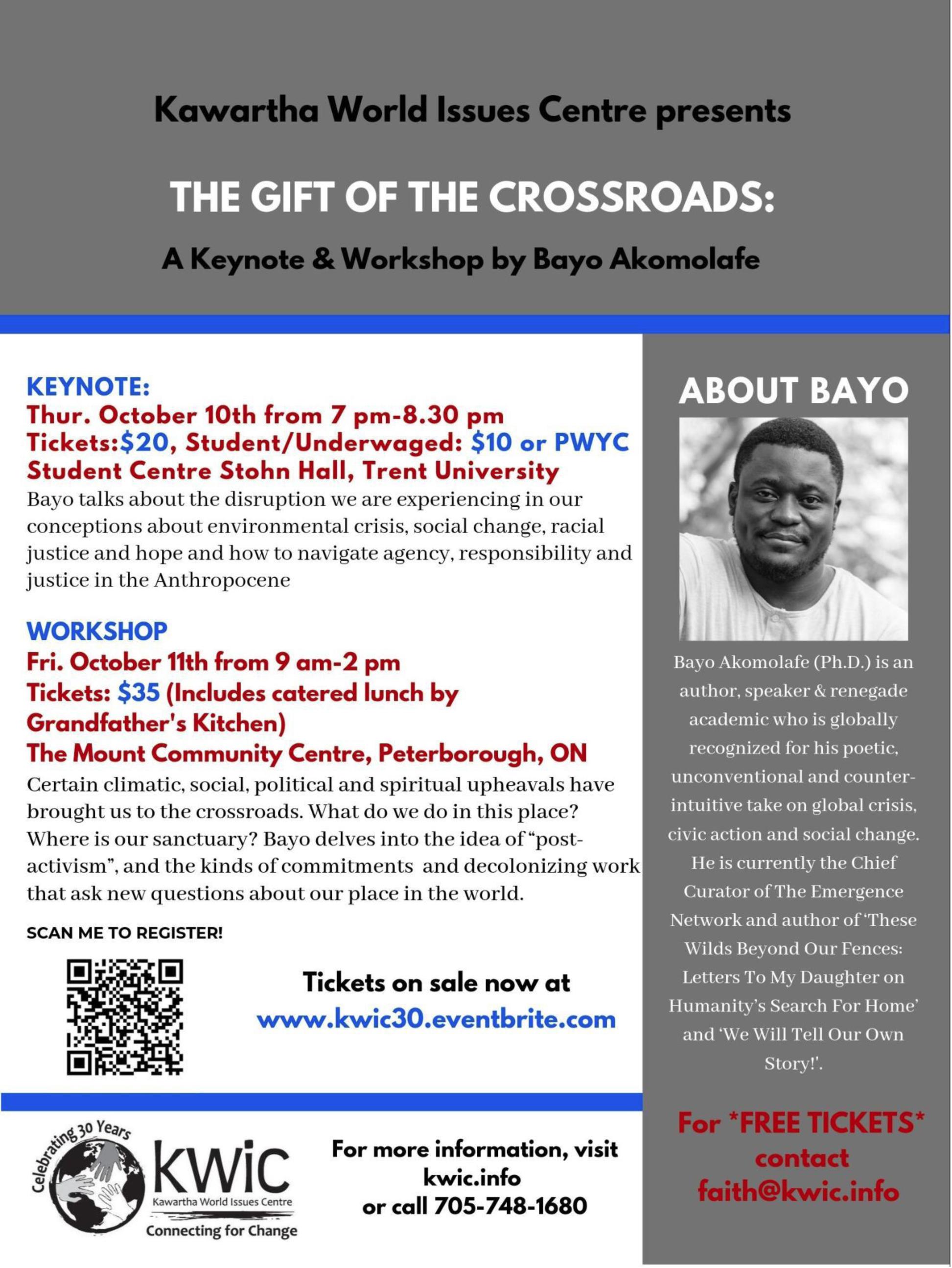 The Entangled Crossroads of Bayo Akomolafe