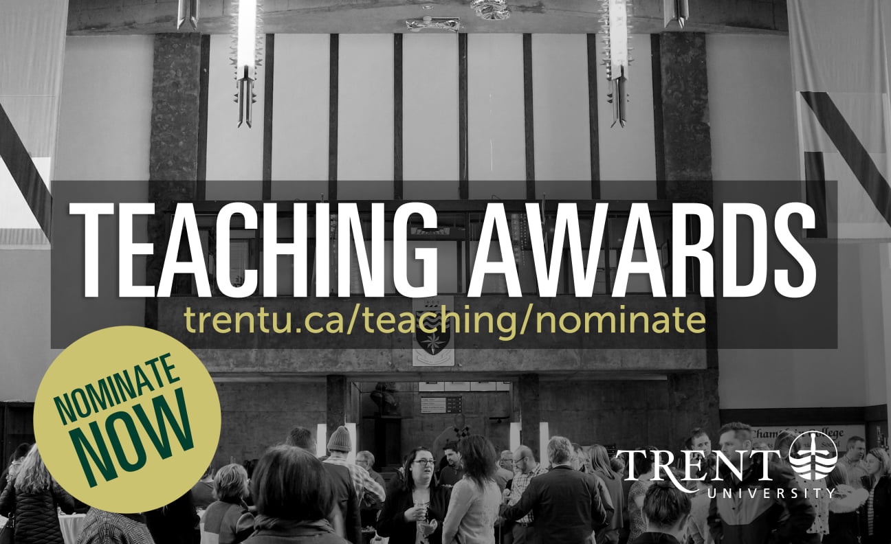 Trent Teaching Awards: Celebrating the Value of Education