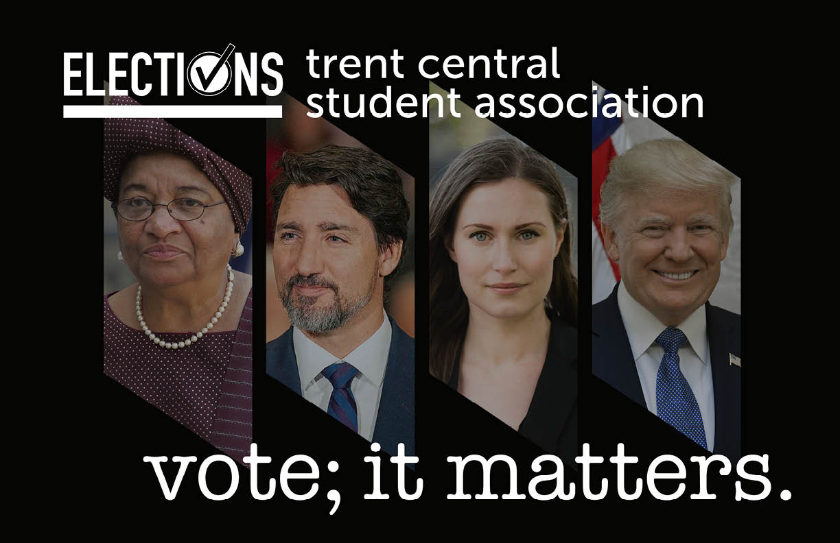 Trent Central Student Association Elections for 2020-2021 This Month