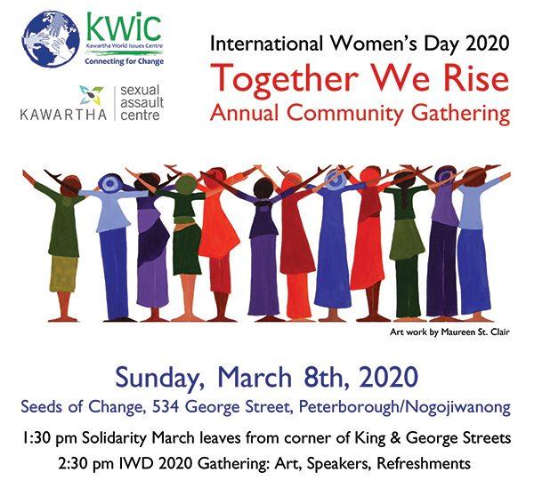 Together We Rise: International Women's Day Community Gathering Keynote Speaker, brea hutchison