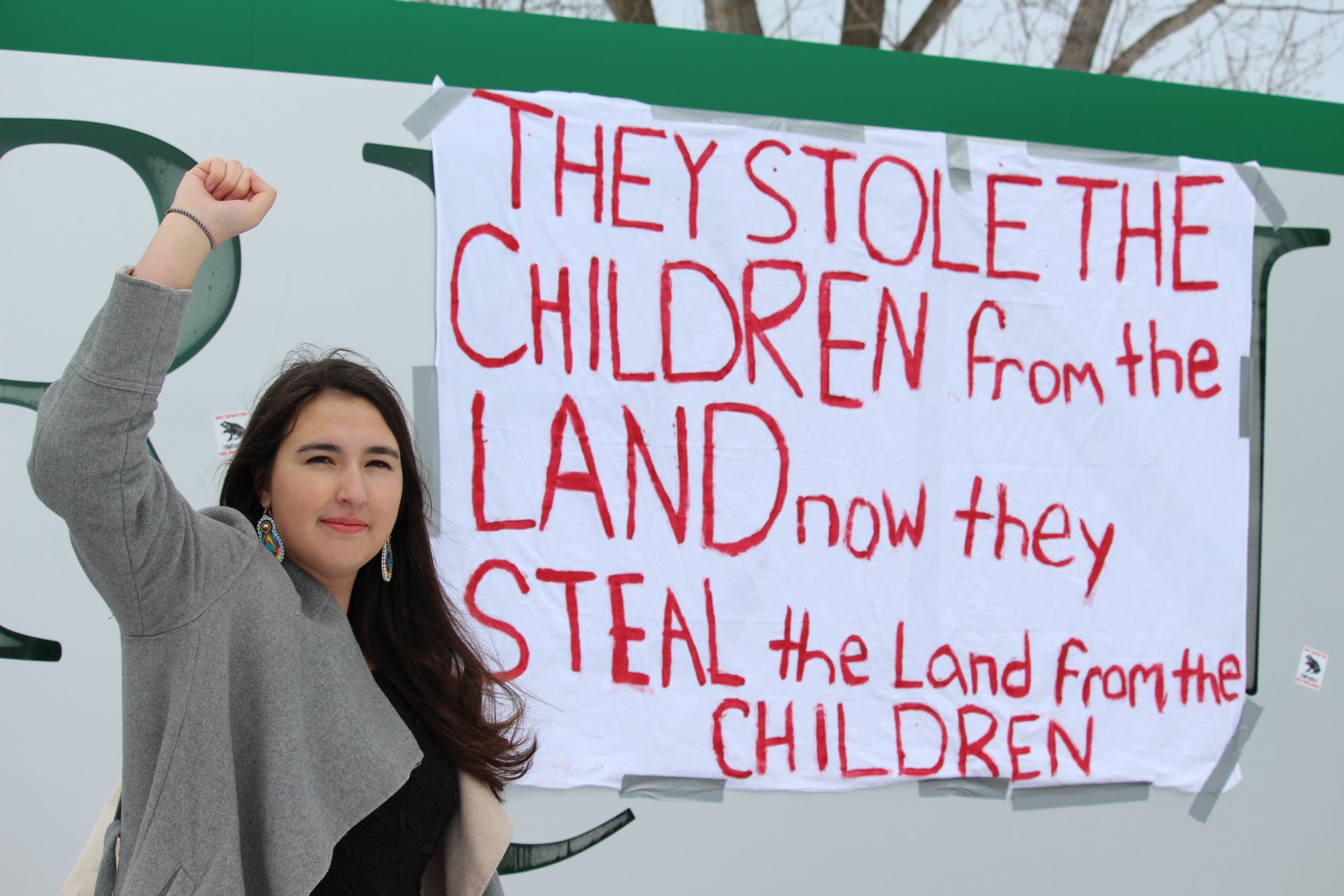 Trent Students Walk Out in Solidarity with Wet'suwet'en