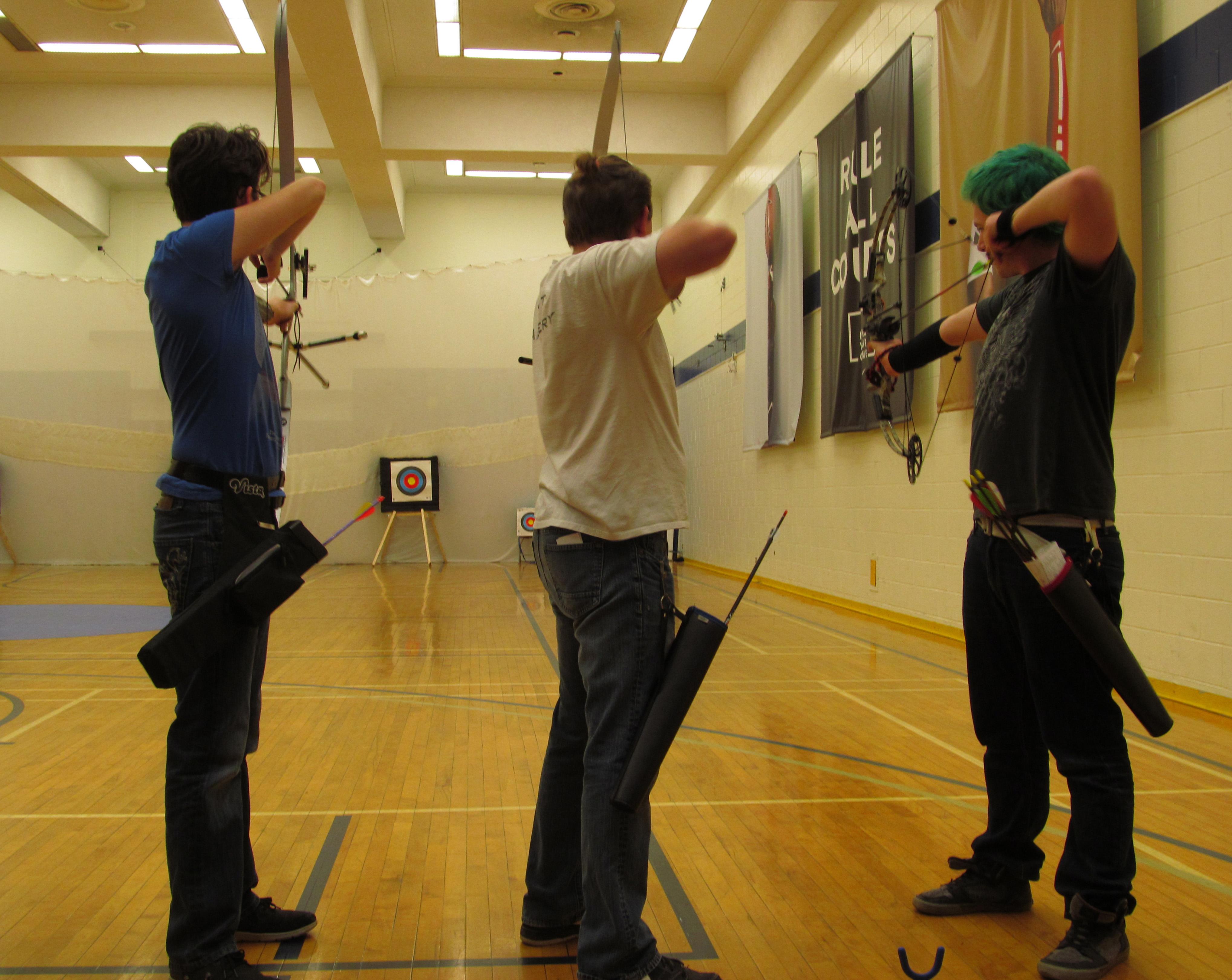 Archery Club hits the bullseye against Ryerson University