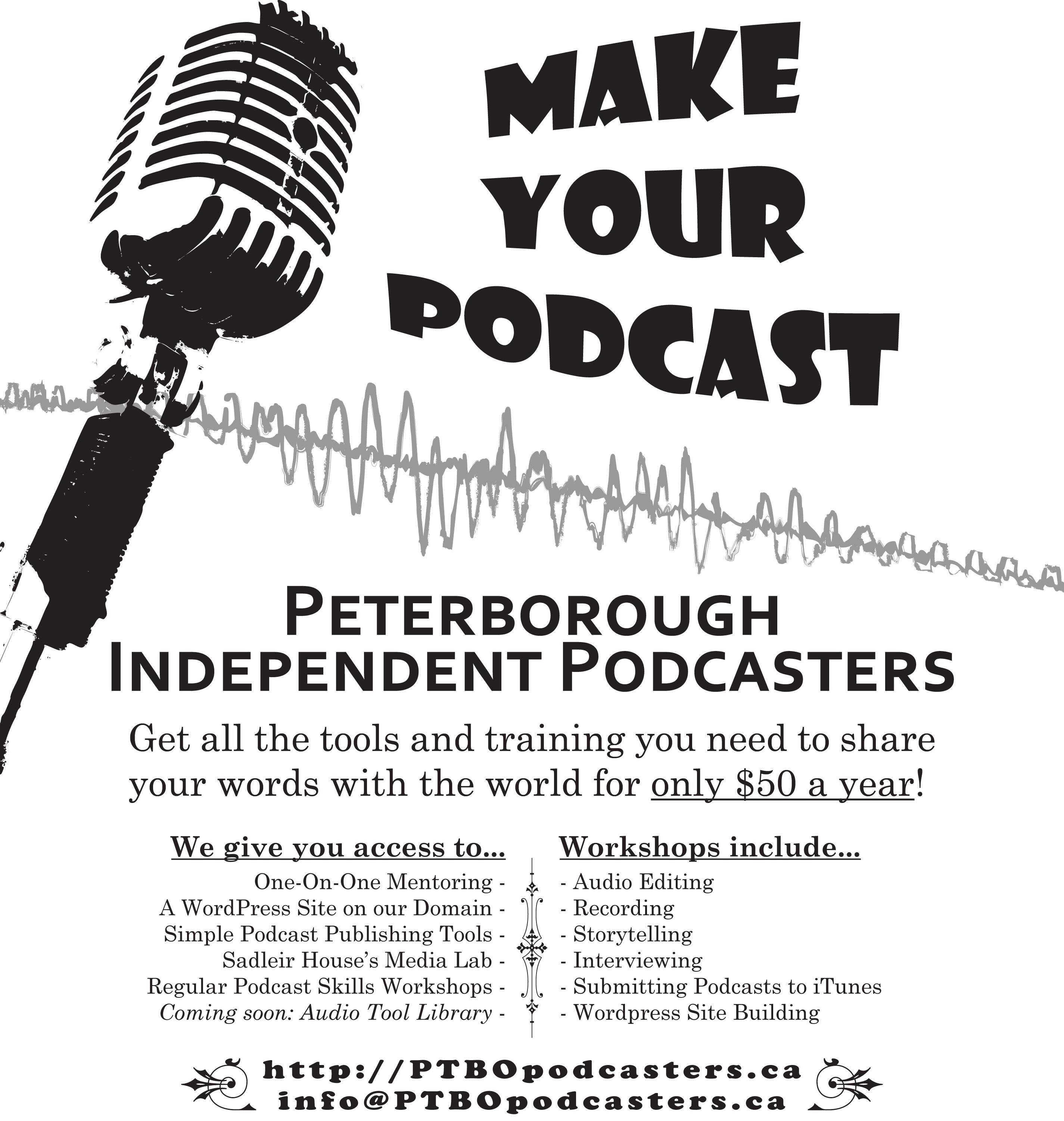 Podcasting happens in Peterborough!
