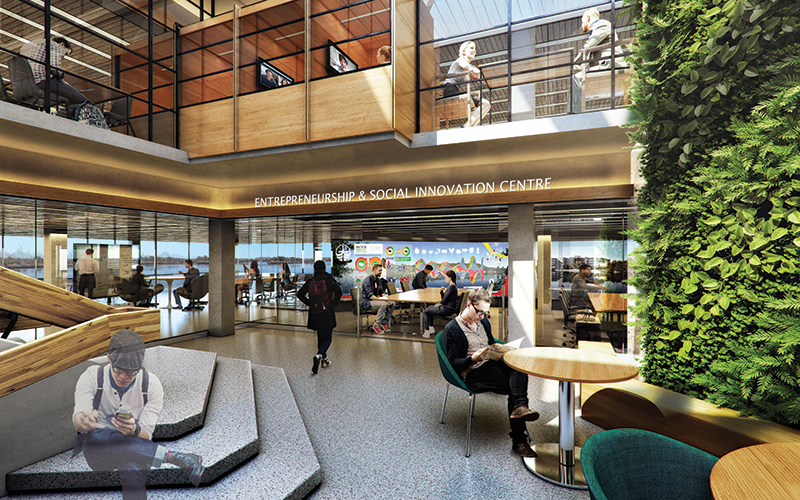 The BRIC Project: Bata Library closing for renovations