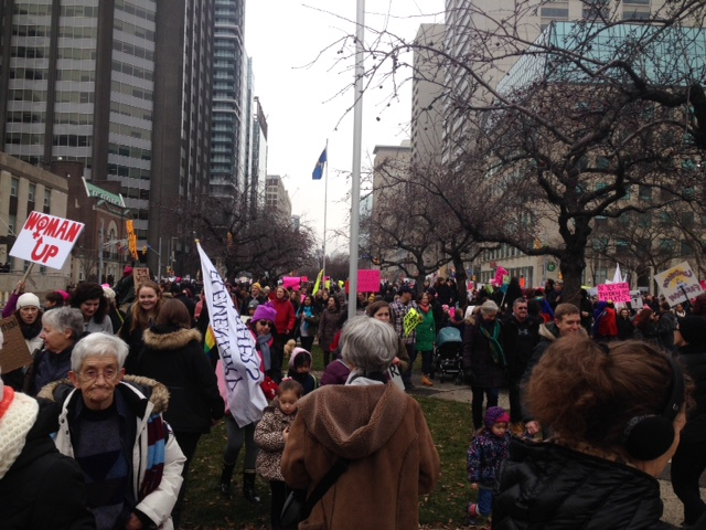 Women's March on Washington inspires Toronto activists