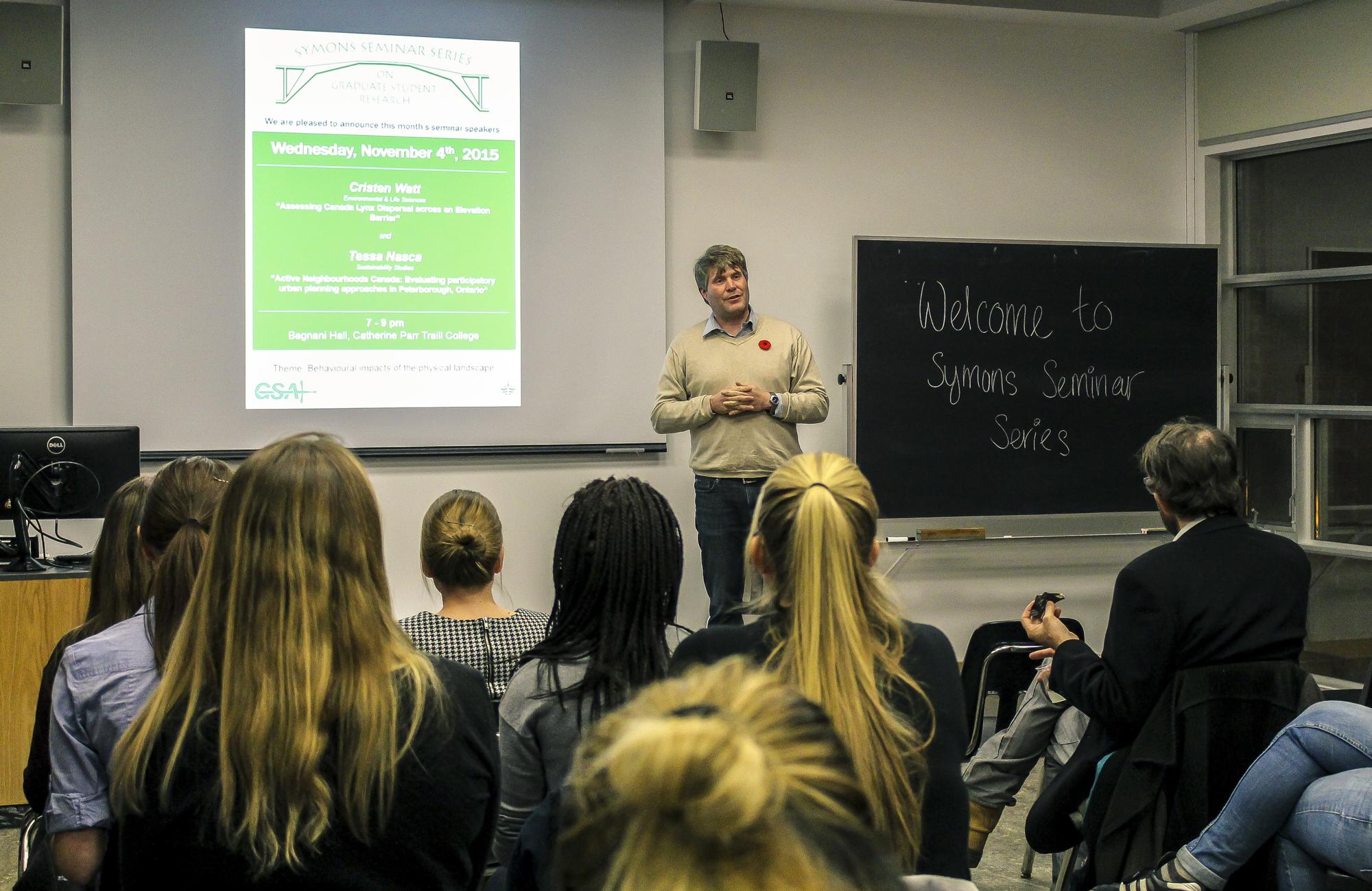 Symons seminar series: graduate research