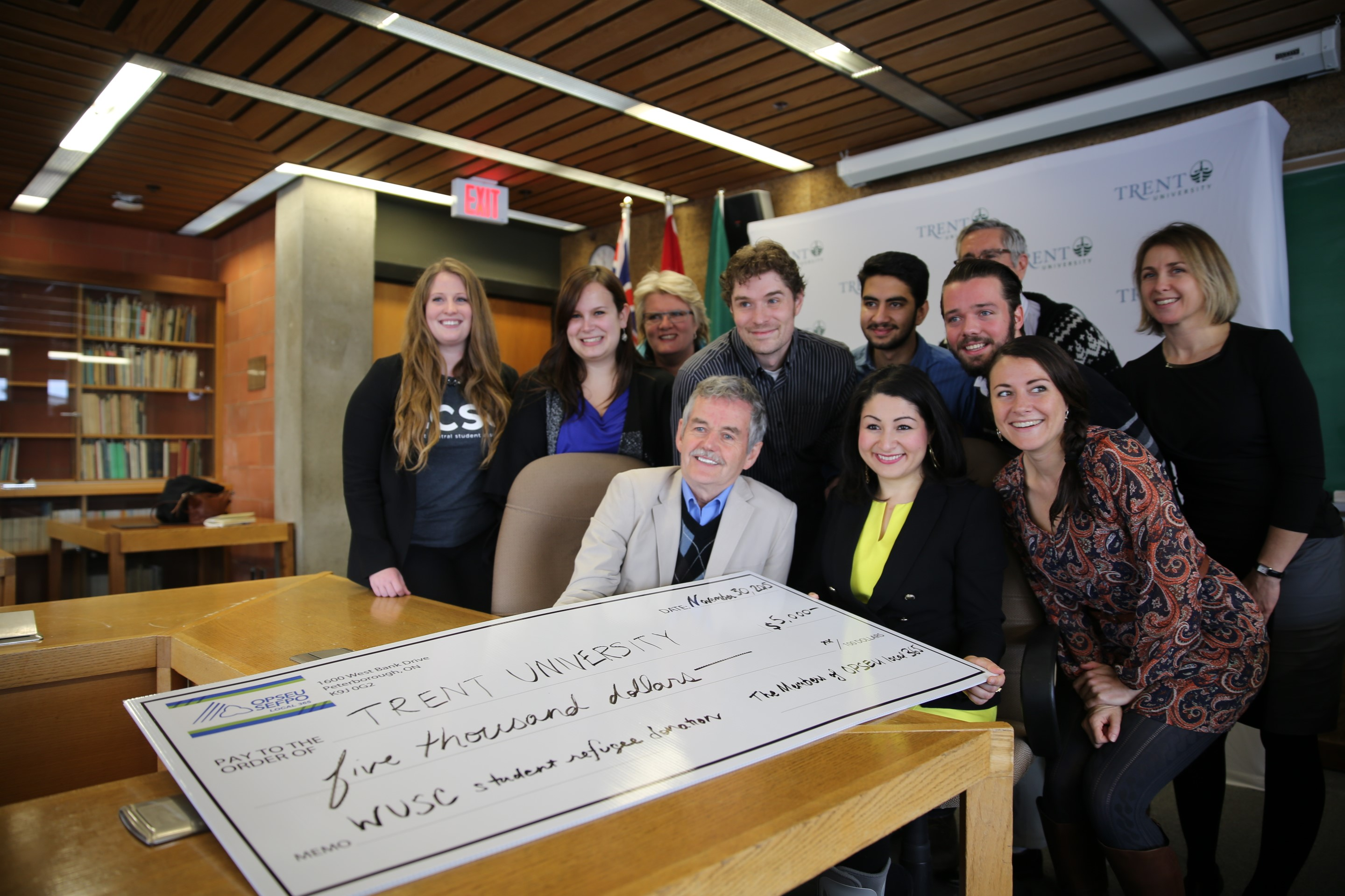 Beyond the $35,000 for the Student Refugee Program