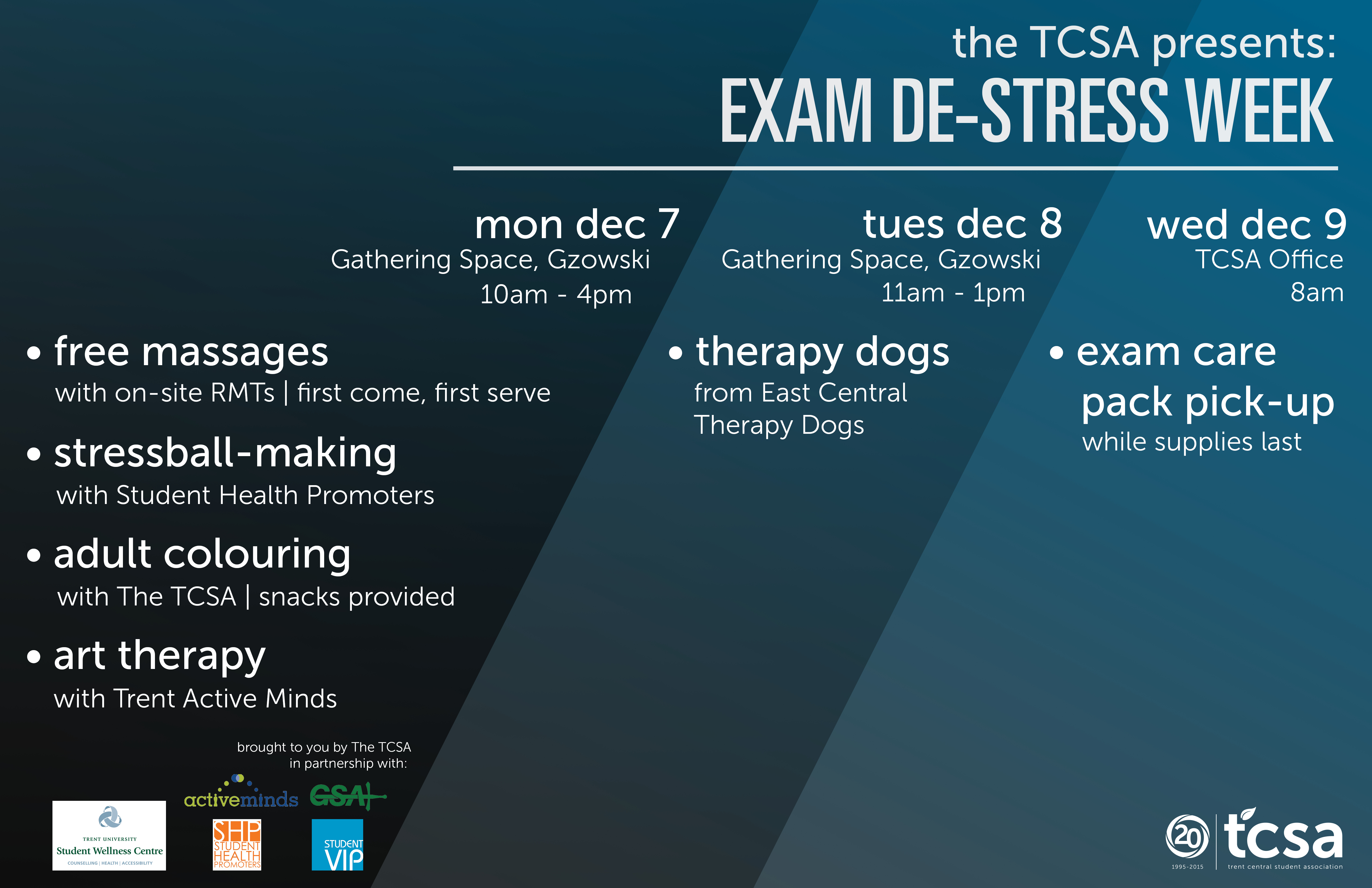 A message of support from the TCSA this exam season