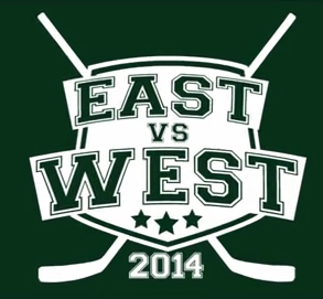 east vs west logo