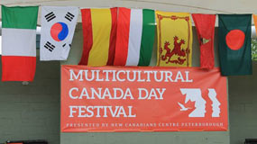 Immigration and Multiculturalism in Peterborough: An overview of a student's research with the New Canadians Centre
