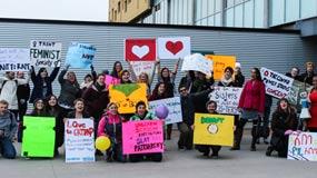 Trent Feminist Society hosts on-campus Slut Walk