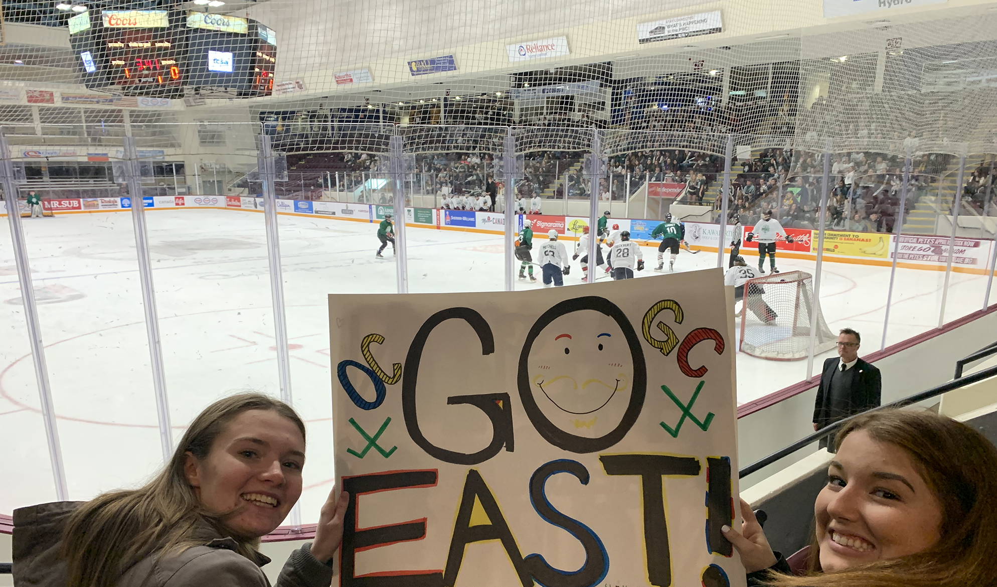 The 10th Annual East Vs. West Bank Hockey Game