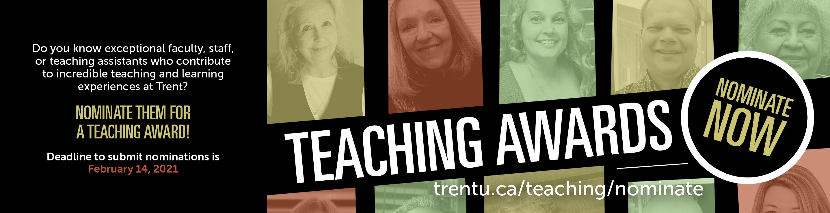 Teaching Awards by The Centre for Teaching and Learning at Trent