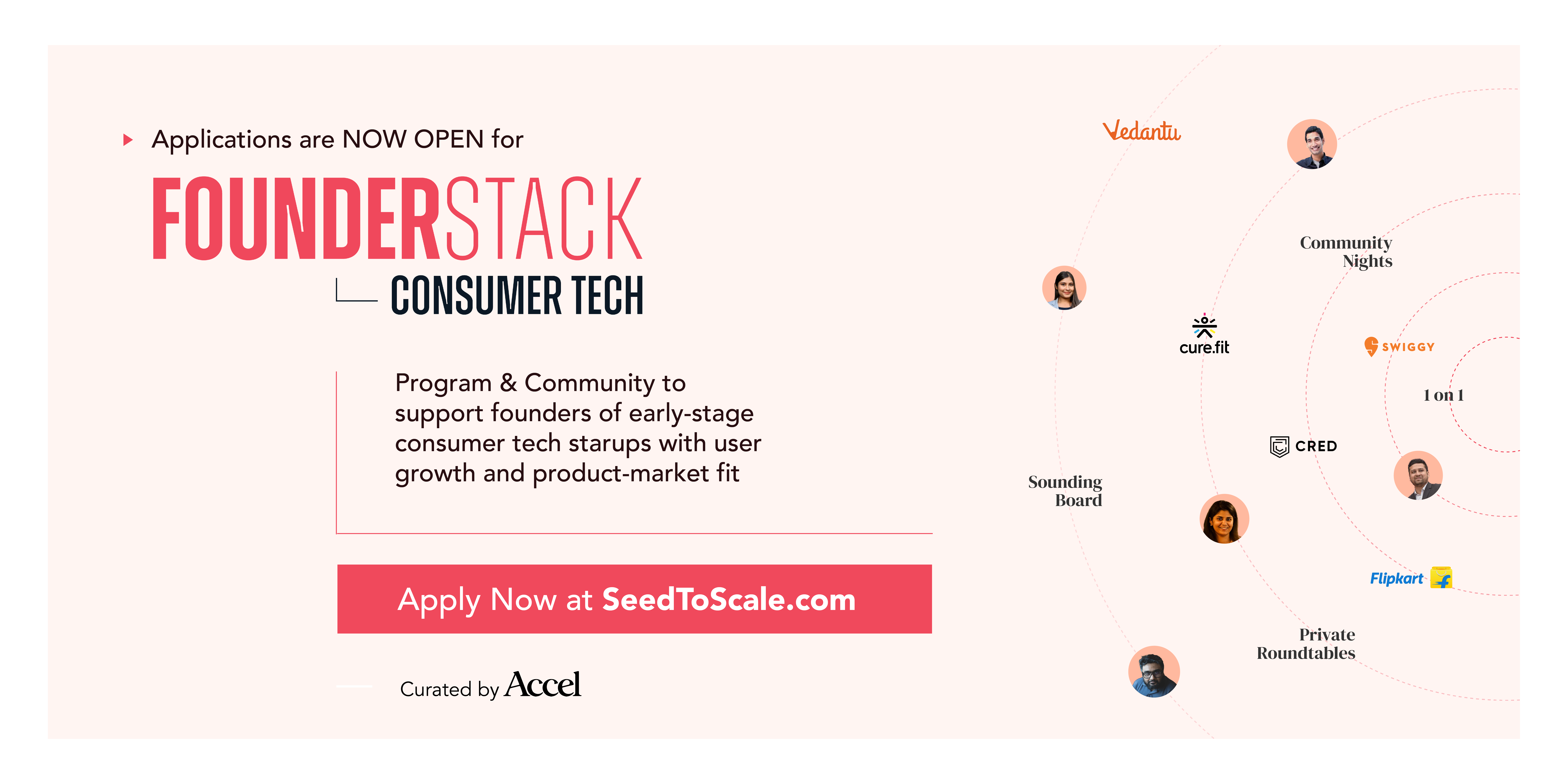 How can early-stage founders in India build their consumer startup with the help of Accel?