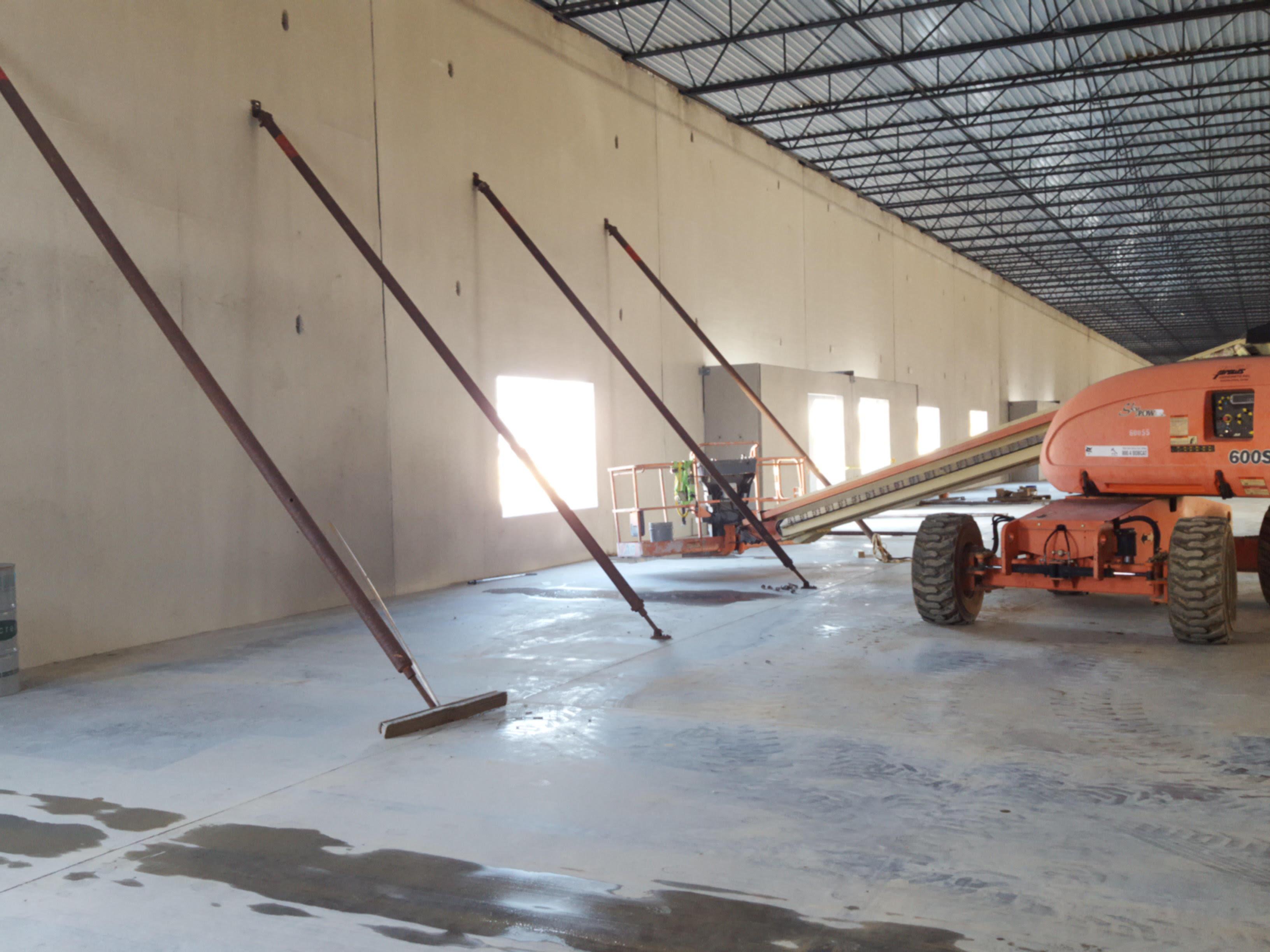 Lot 6, tilt up construction, class A concrete last mile delivery, industrial warehouse building, Hebron, KY