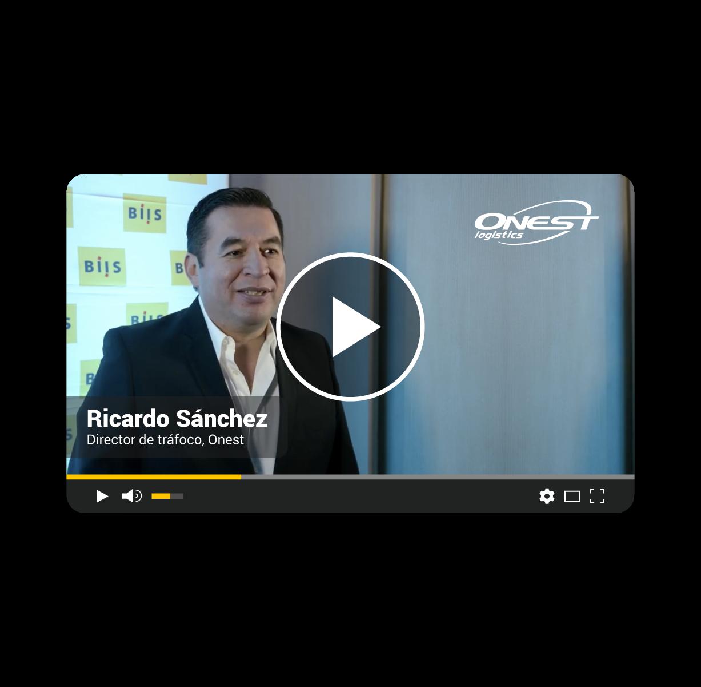 Testimonial BIIS | Ricardo Sánchez | Onest Logistics