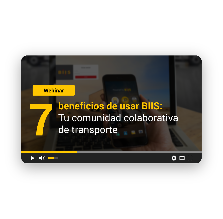7 beneficios de usar BIIS: Tu comunidad colaborativa de transporte