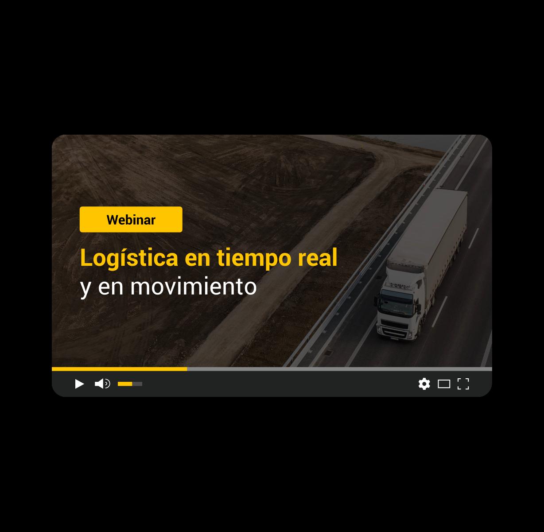 Logística en tiempo real y en movimiento