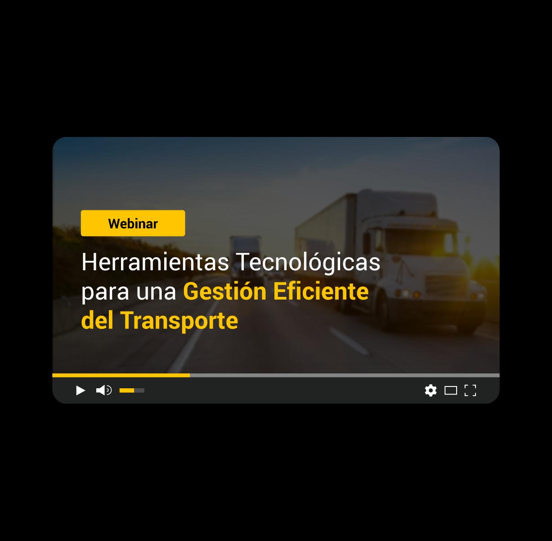 Herramientas tecnológicas para una gestión eficiente del transporte