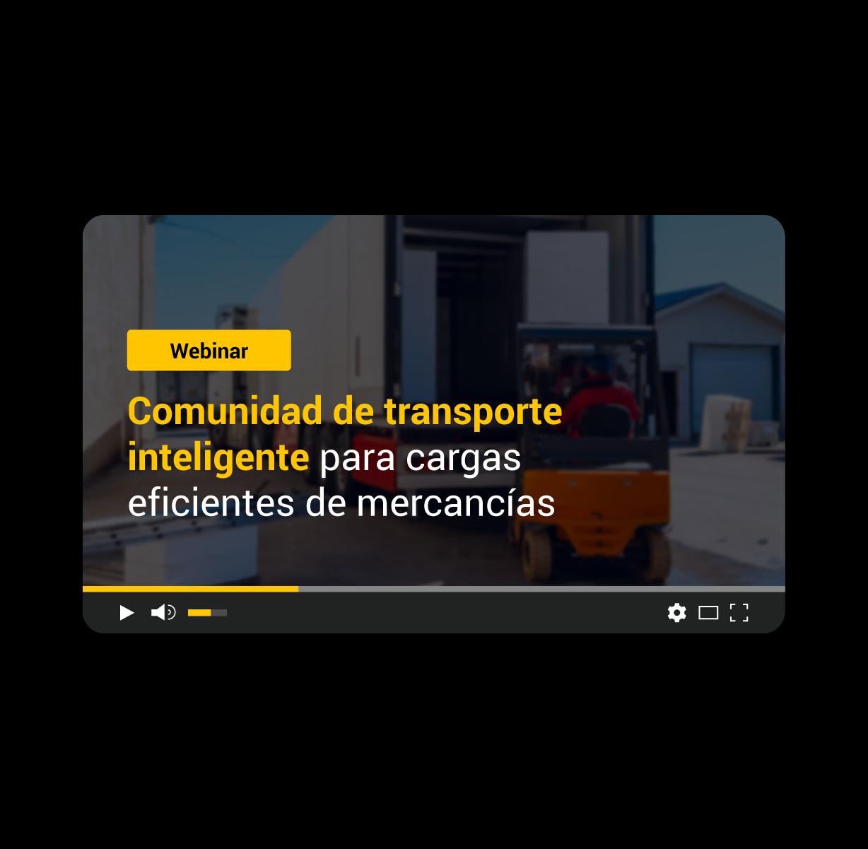 Comunidad de transporte inteligente para cargas eficientes de mercancías