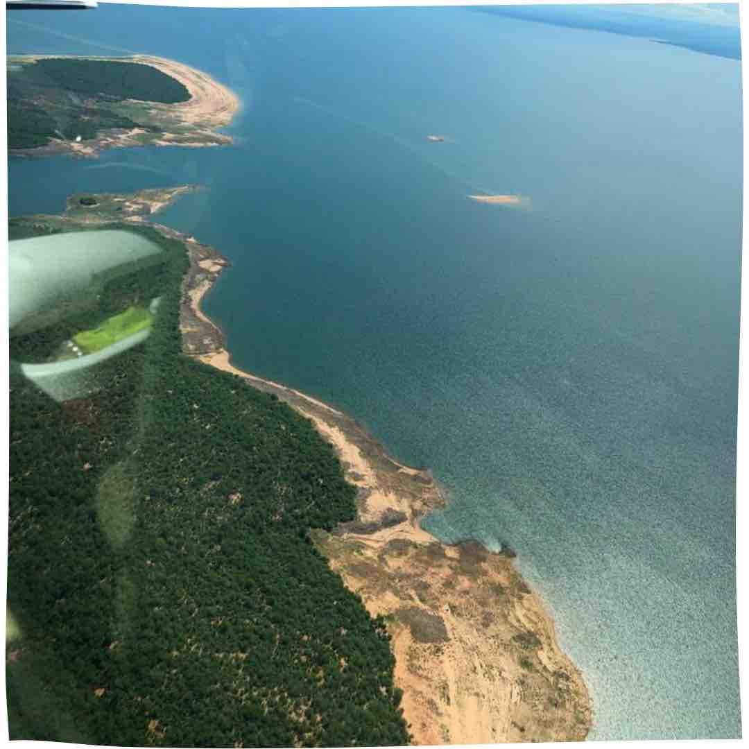 Plane view of the Songo Conservancy