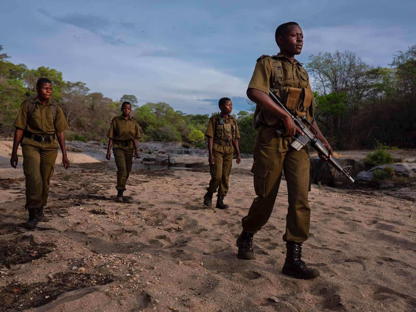 Rangers out on patrol