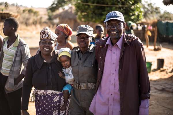 Local communities the IAPF supports