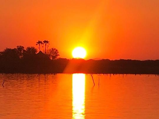 Sunset over Songo