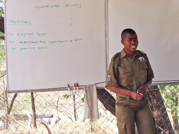 Sergeant Julianna Murumbi