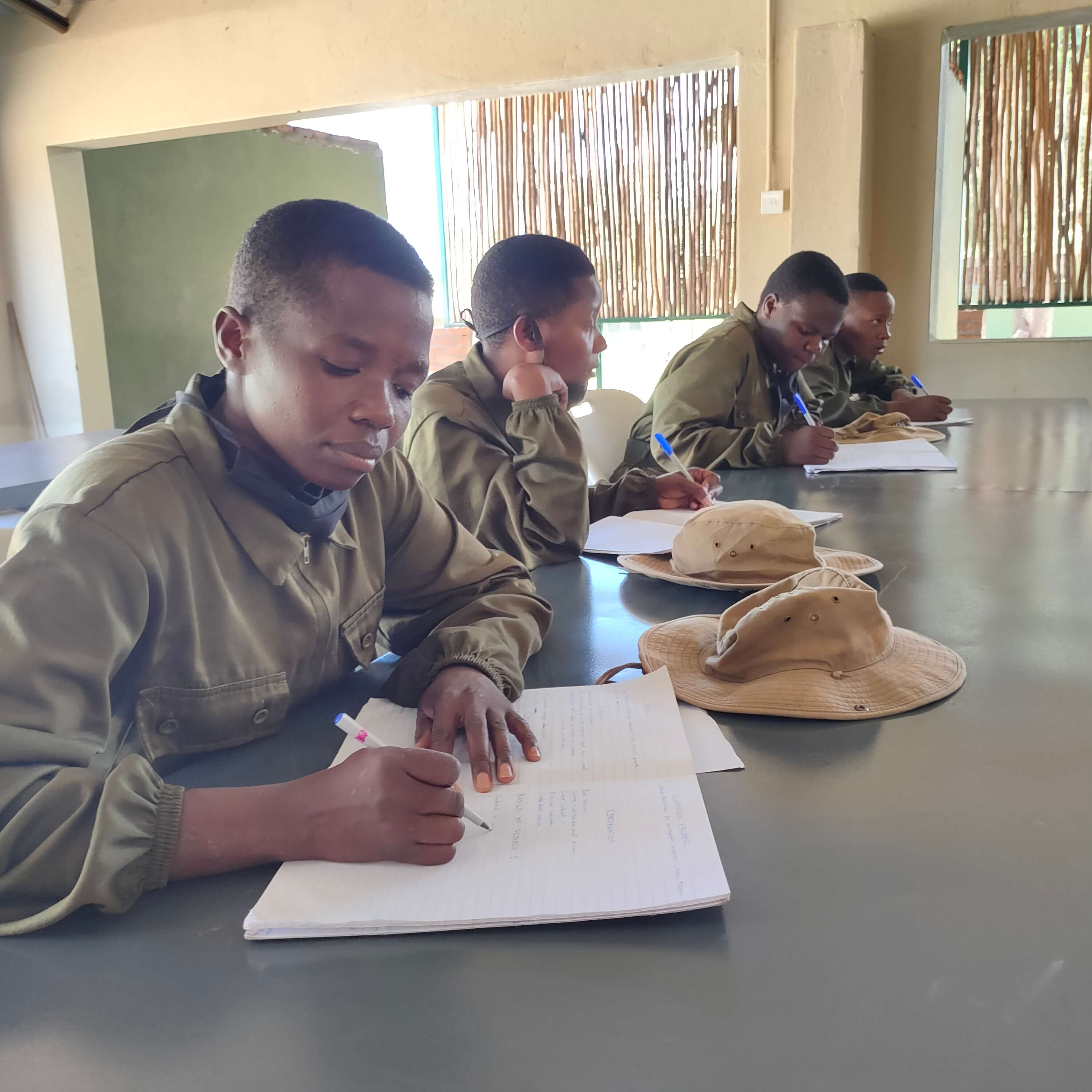 Rangers in the classroom