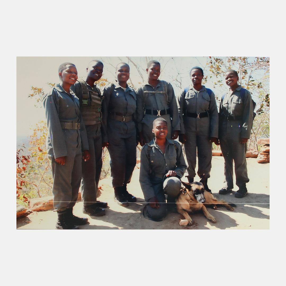 Signed Ranger Team Photo
