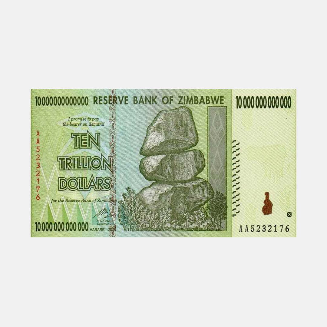 Millions of Zimbabwean Dollars