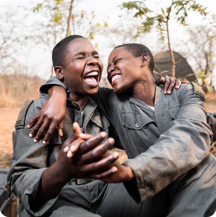 Laughing rangers