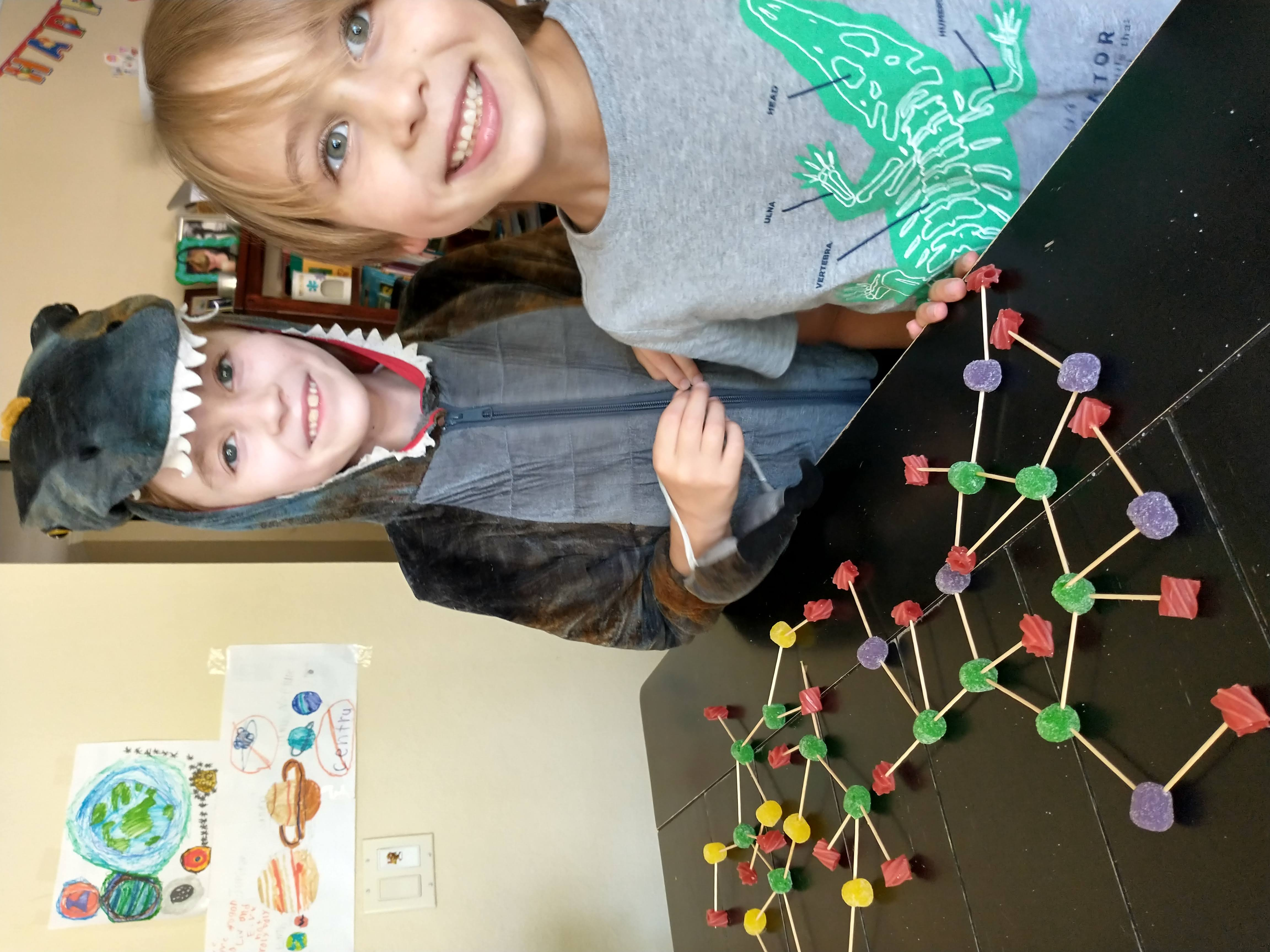 Kids and Atoms