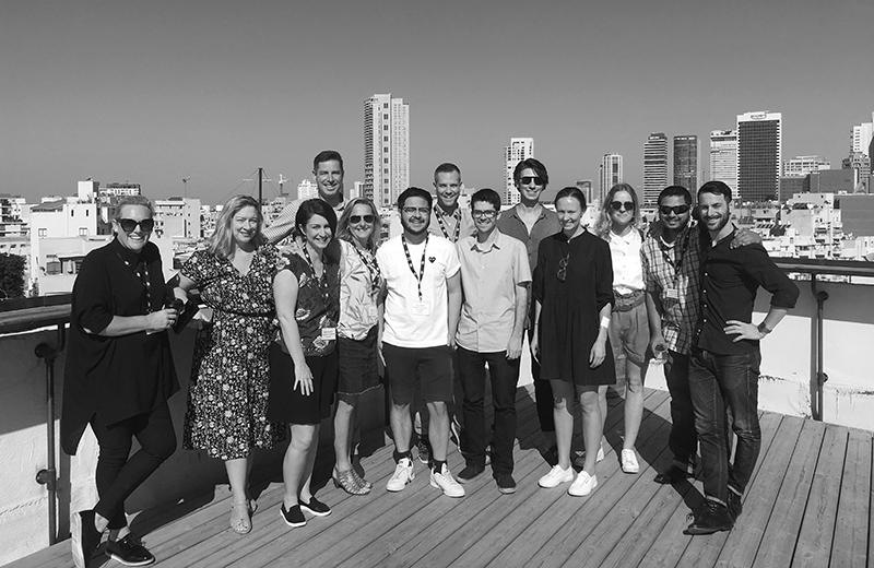 SOSA open innovation teamteam in Israel