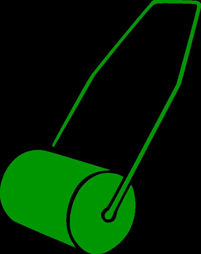 Symbol Rasenwalze