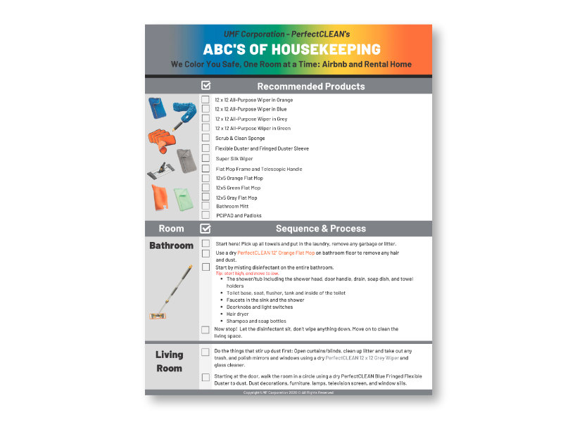 ABC's of Housekeeping image