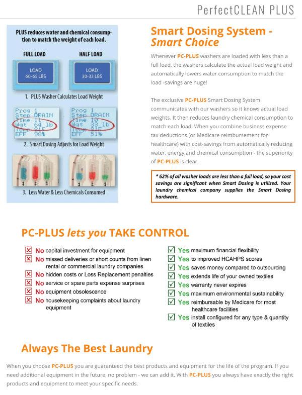PerfectCLEAN PLUS Smart Dosing System brochure
