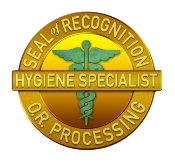 Hygiene Specialist Seal of Recognition logo